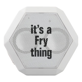 its a fry thing white boombot rex bluetooth speaker