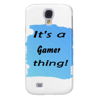 It's a gamer thing samsung galaxy s4 case
