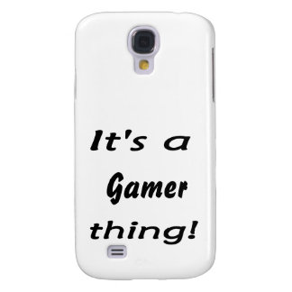 It's a gamer thing samsung galaxy s4 cover