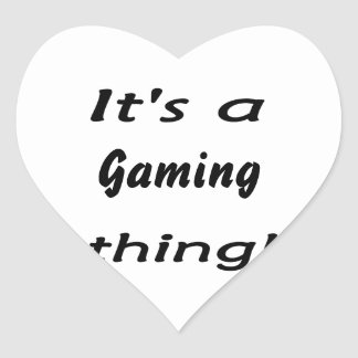 It's a gaming thing! stickers