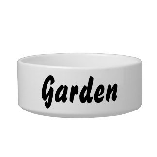 it's a garden thing! bowl