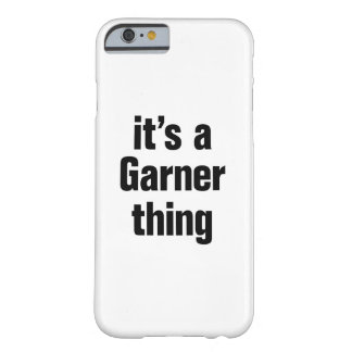 its a garner thing barely there iPhone 6 case