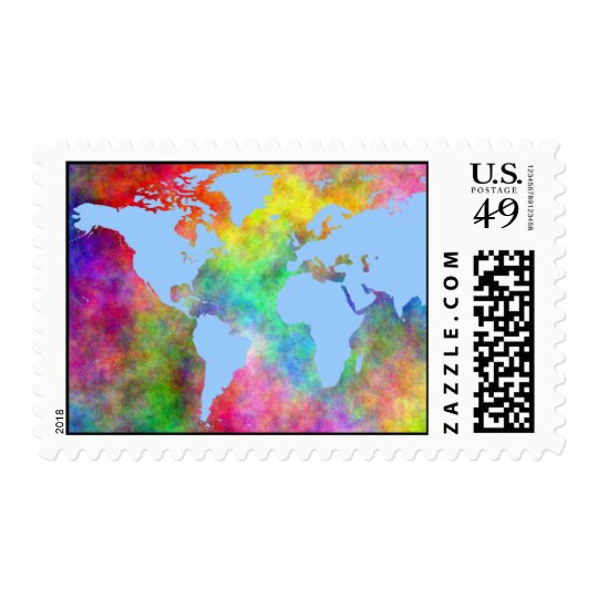 """Its A Gay World"" Postage"