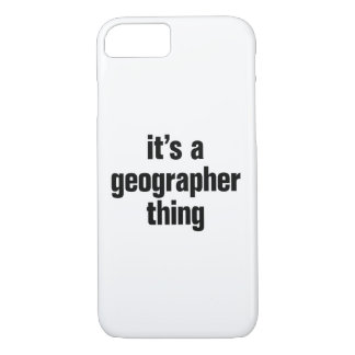 its a geographer thing iPhone 8/7 case