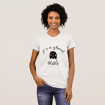 It's a Ghoul Inside  Halloween Maternity Shirt