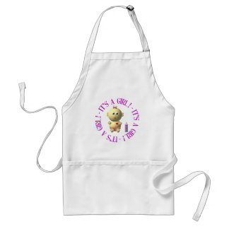 It's a girl! adult apron