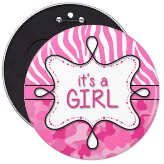 It's a Girl Announcement Pin 3