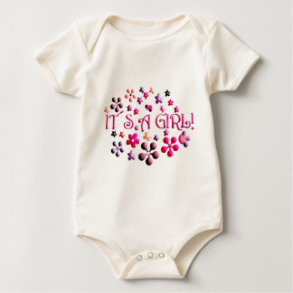 Its a Girl Baby Bodysuit