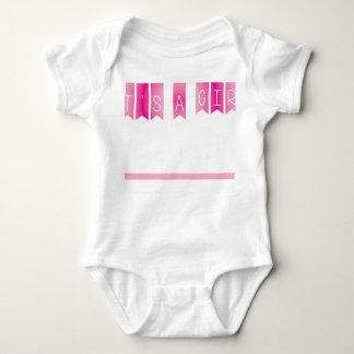 It's a girl baby bodysuit
