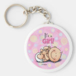 It's a Girl - Baby Congratulations! Keychain