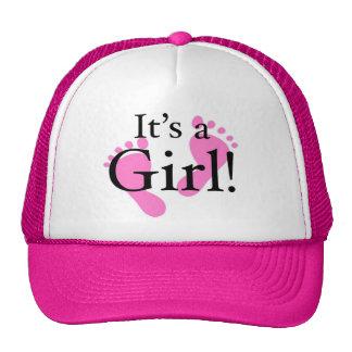 Its a Girl - Baby, Newborn, Baby Shower Mesh Hat