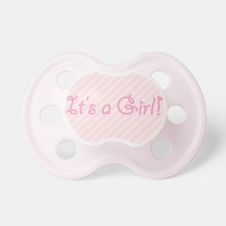 It's a Girl Baby Pacifier