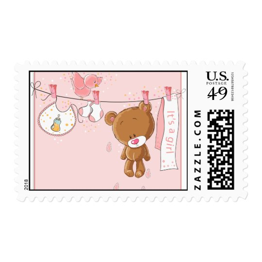 It's a Girl Baby Postage