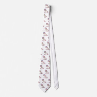 IT'S A GIRL BABY RATTLE by SHARON SHARPE Neck Tie