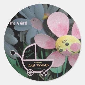 It's A Girl Baby Shower in Las Vegas Sticker