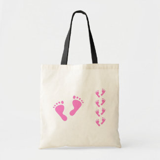 Its a Girl - Baby Shower, Newborn Budget Tote Bag