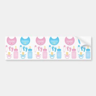 its a girl boy bumper sticker