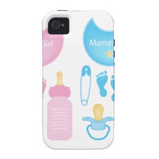 its a girl boy Case-Mate iPhone 4 cases