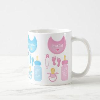 its a girl boy coffee mug