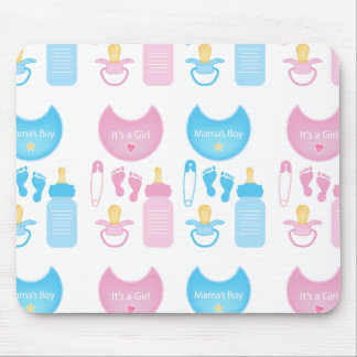 its a girl boy mouse pad