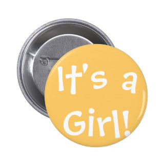 It's a Girl! Button