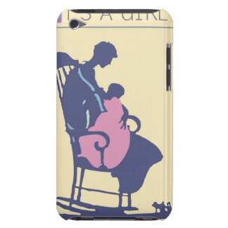 <It's a Girl> by Steve Collier Barely There iPod Cover