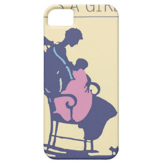 <It's a Girl> by Steve Collier iPhone 5 Cases