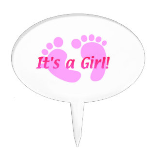 Its a girl cake topper! cake topper