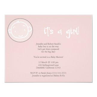 It's a girl! card