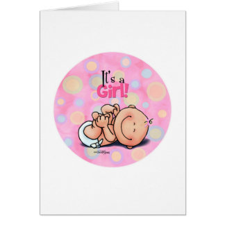 It's a girl! - card