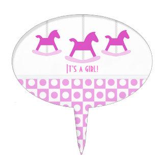 It's A Girl!: Carousel Cake Pick