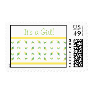 It's a Girl - Carriage Stamp