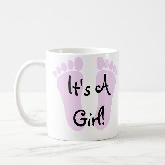 It's A Girl Coffee Mug