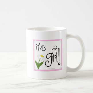 It's a Girl! cute ways to Announce a birth! Coffee Mug