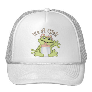 It's A Girl Mesh Hats