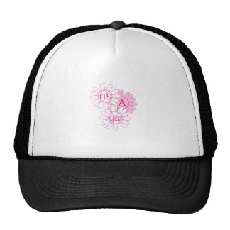 Its A Girl! Mesh Hat