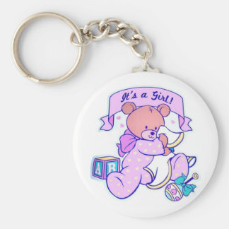 It's a Girl Keychain