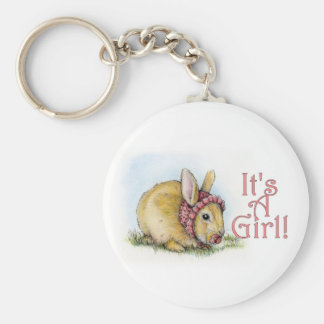 It's a Girl Keychain