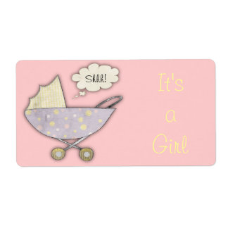 It's a Girl Labels