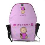 It's a Girl Messenger Bags