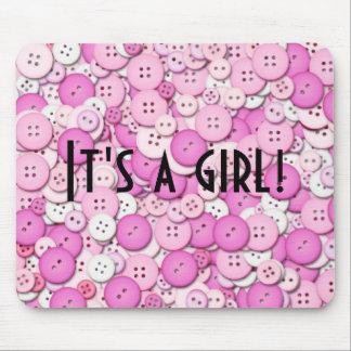 It's a girl! Mousepad