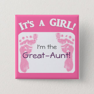 It's a Girl! New Baby Button for Relatives