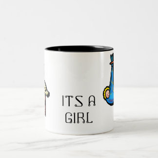 ITS A GIRL NEW BIRTH MUG
