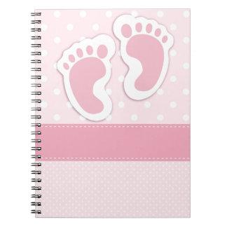 It's a girl! notebook