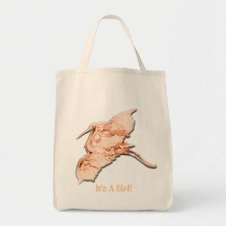 It's A Girl Organic Diaper Bag