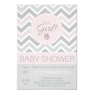 Chevron Baby Shower Invitations Announcements Zazzle