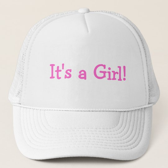 Its A Girl (Pink) Trucker Hat