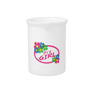 ITS A GIRL BEVERAGE PITCHER