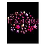 Its a Girl Post Card