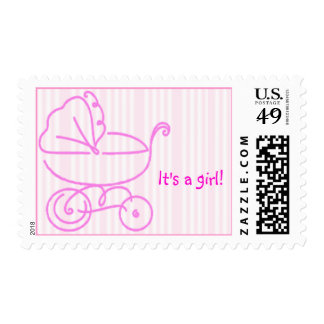 its a girl postage